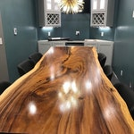 Acacia wood table