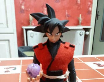 Custom Black DxF Dragon Ball Goku
