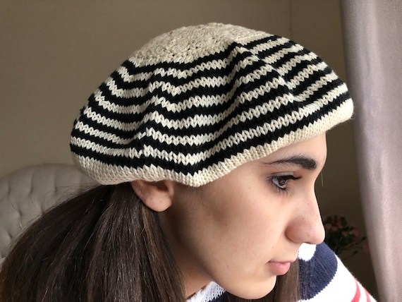 French beret women's summer cotton beret lightweig