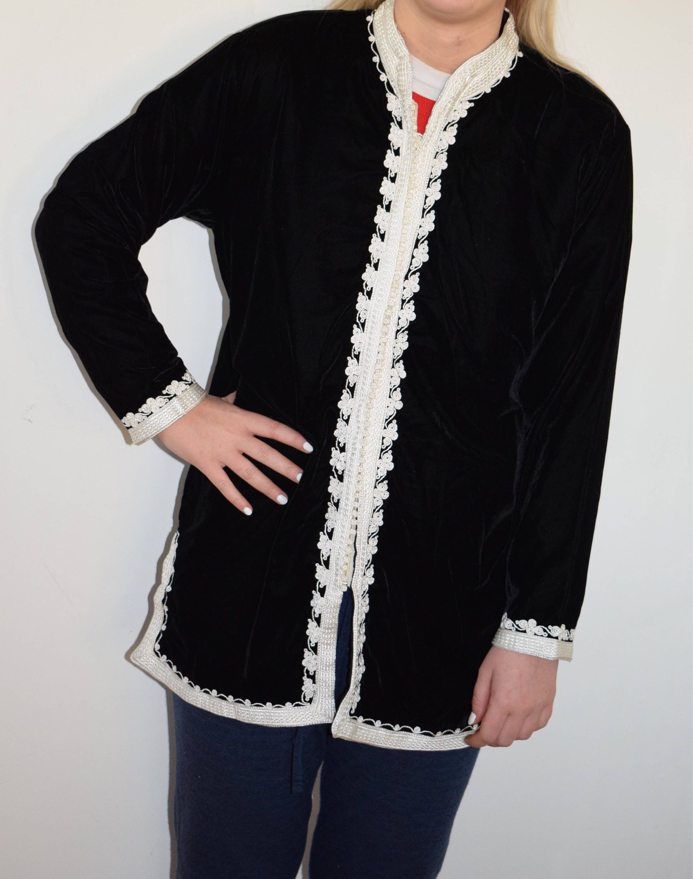 85 Stunning Bohemian Style Interior Design Ideas For Your: Stunning Bohemian Moroccan Tunic Jacket With Nehru Collar