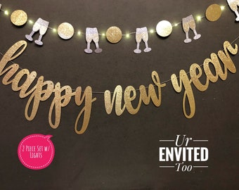 happy new year party banner happy new year banner new years eve photo prop new years party supplies hello 2019 cheers to 2019