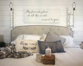 Ordinaire Bedroom Wall Decor | Etsy