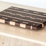 Zig-Zag End-Grain Cutting Board