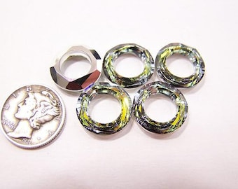 726116d75 Sahara CAL (14mm) Swarovski 4139 Cosmic Ring Faceted Crystal Stone (1 piece)