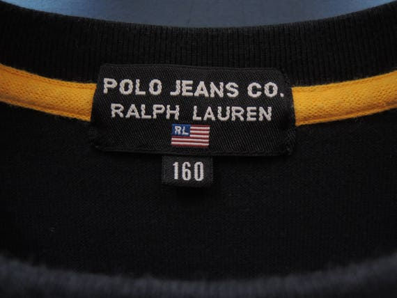Size Lauren Over Crewneck Polo Sleeve Pull Ralph Sweatshirt Vintage Urban Fashion 160 Jeans By Long 1OWI1qRw