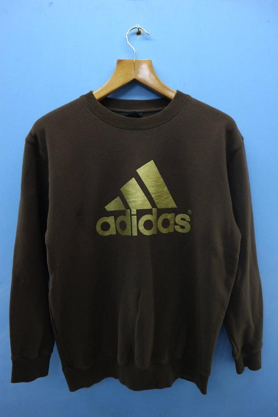 Vintage Adidas Big Logo Sport Sweatshirt Pull Over Crewneck  b9afbdcd7e3