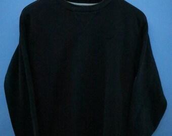 Vintage Nike Minimalist Logo Sport Sweatshirt Pull Over Crewneck Street Wear Size L