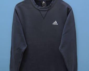 Vintage Adidas Minimalist Logo Sport Sweatshirt Pull Over Sweater