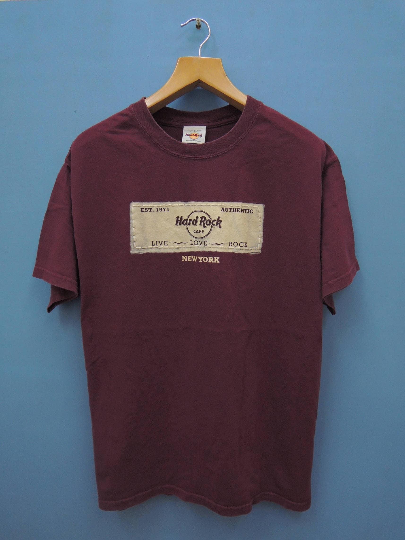 Vintage Hard Rock Cafe T Shirt New York Street Wear T Shirt  d1f9fd47dba