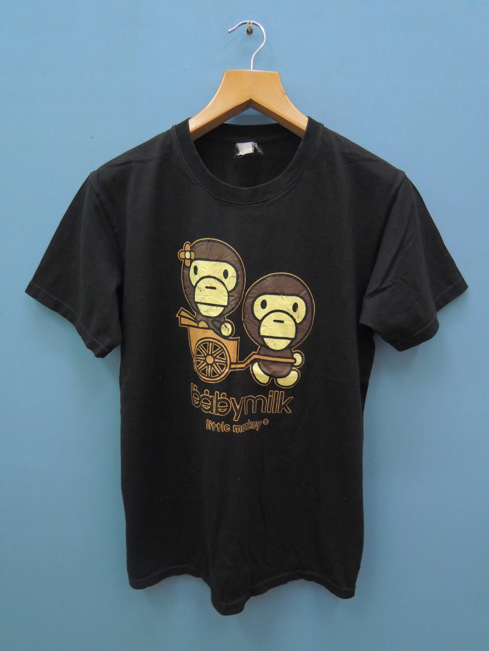 b29e03742 Vintage Bathing Ape Baby Milo Street Wear Shirt Top Tee Skate | Etsy