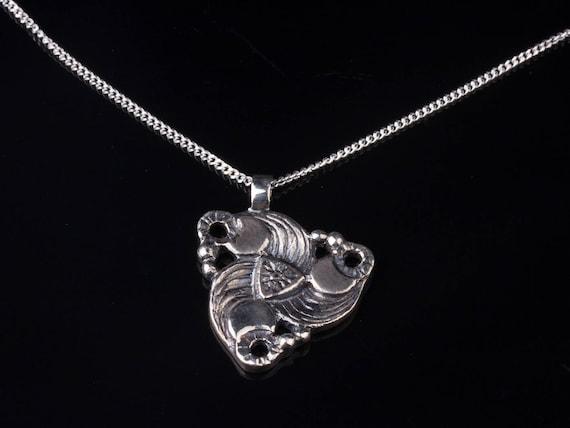 Men Sterling Silver Pendant Mens Silver Necklace Men Silver  87d4b9b771a4