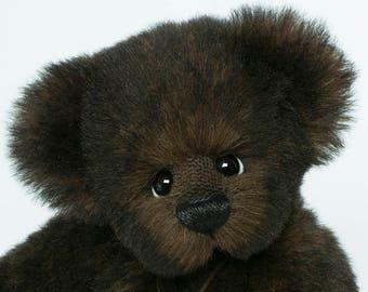 Alleen bestellen / Alpaca kunstenaar Bear / Vicky Lougher / kunstenaar Teddy Bear / kunstenaar Bear / Mohair Teddy Bear / Teddy Bear / Origineel kader / Collectible