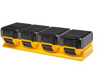 Dewalt 18V & 20V 4-unit Battery Holder