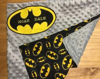 Batman Baby Blanket
