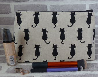 Cat shadow makeup bag 2bd026c2fdab8