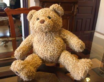 "08c208cab90 Build a Bear 14"" tall Tan Woolly Teddy Bear Plush – Very Cute"