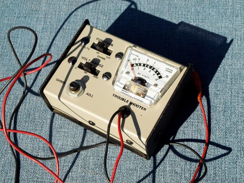 Vintage DC Volt  Ohm Meter Trouble Shooter Works