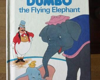 Walt Disney's Dumbo the Flying Elephant by Random House 1978 – First American Edition