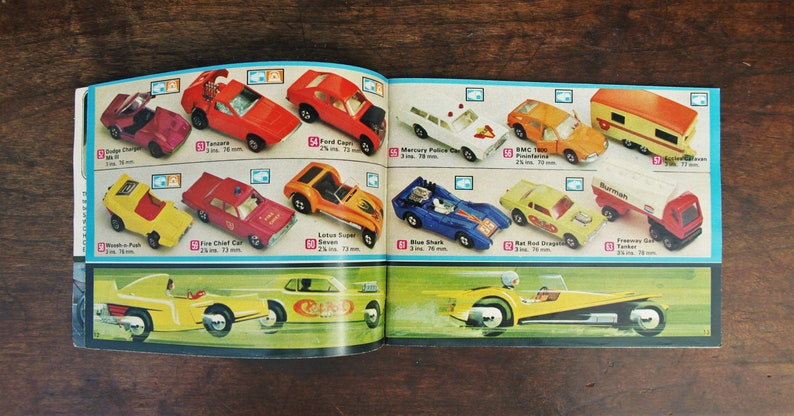 Matchbox Collector's Catalogue USA Edition Reference Catalog Book 1973