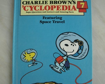 Charlie Brown's 'Cyclopedia Encyclopedia Volume 7 Featuring Space Travel 1980