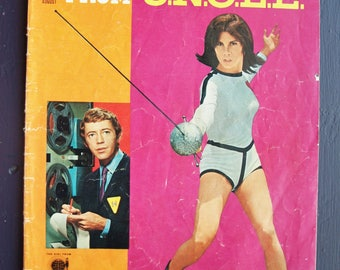 The Girl from U.N.C.L.E from Gold Key TV Comics 1967 – 10197-708 August
