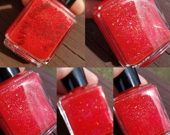 Summer Hibiscus~13ml~Indie polish~Cruelty Free~5 Free