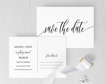 Save the date postcard etsy save the date postcard save the date postcard template printable save the date postcard save the date post card template sb15 maxwellsz