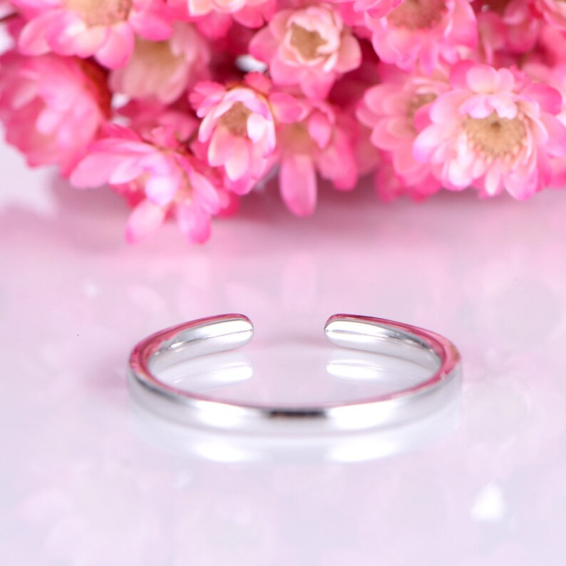 Sapphire wedding band 14k white gold open ring natural sapphire matching band half eternity ring custom bridal ring anniversary gift for her