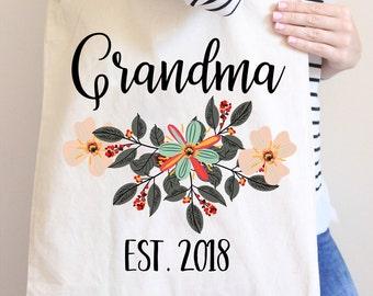 grandma tote bag grandma tote new grandma tote bags new grandma gift gift for grandma gift for new grandma tote bag for grandma