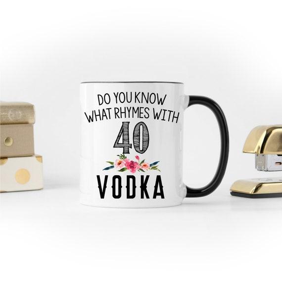 40th Birthday Gift Mug Turning