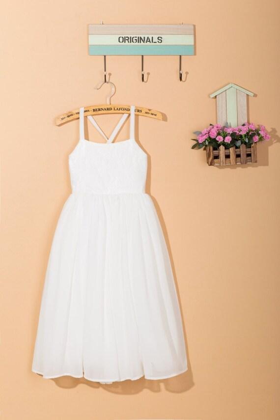 a8d313bff26 White flower girl dress toddler dress lace flower girl