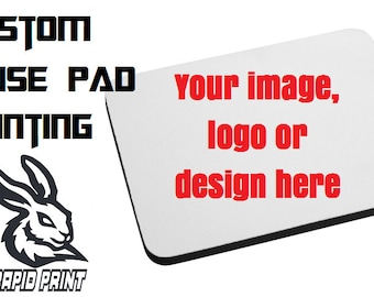 Personalised Mouse Pad - Add any custom image or design you want!
