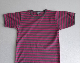 cc85b8bac398 Pink/ Gray Kids short sleeve T-shirt. 100% cotton. 130 cm tall child