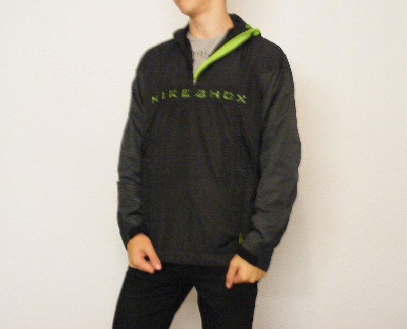b0baccce4a409 Nike SHOX Jacket Tracksuit Top Windbreaker Runner Jacket Mesh | Etsy