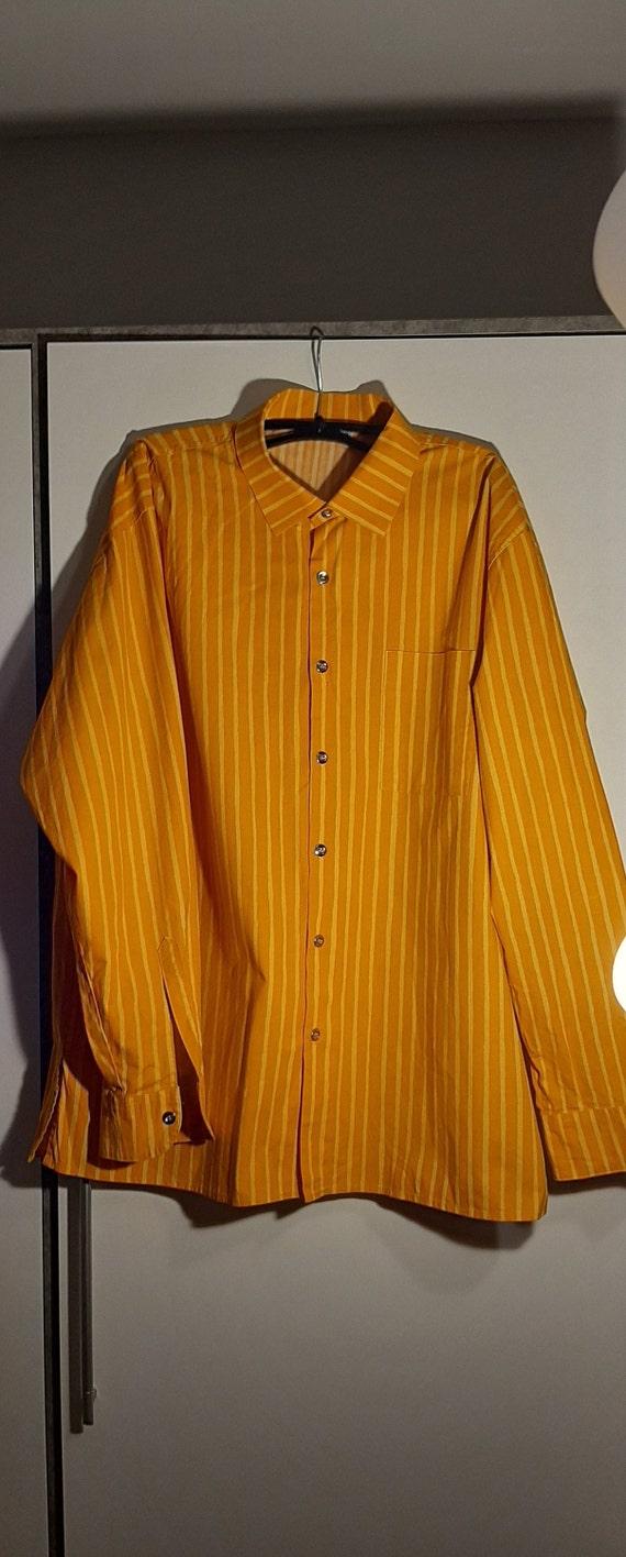 Jokapoika Marimekko Vintage Striped Cotton Shirt.