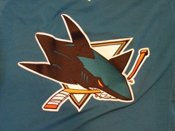 Vintage Reebok CCM San Jose Sharks Jersey . NHL Vintage  1658590ac