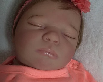 Realborn Emma just finished very beautiful Reborn she is absolutely adorable shipping included 3-day priority