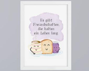 Friendship - unframed art print