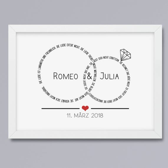 Marriage-rings cross-art print without frame