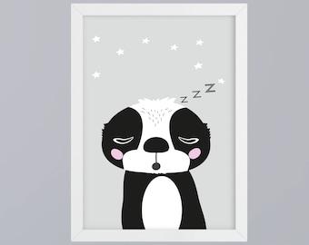 Sloth SW - unframed art print