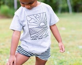 Land That I Love Organic Cotton Kids Shirt by Nature Supply Co