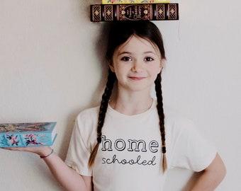 Homeschooled Kids Shirt by Nature Supply Co, Homeschool Shirt Kids