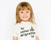 Raise the Migration Kids Shirt by Nature Supply Co
