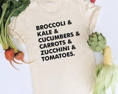 Veggie List Shirt by Nature Supply Co
