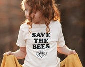 Save the Bees Kids Shirt by Nature Supply Co