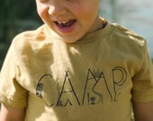 Kids Organic Camp Shirt by Nature Supply Co, Organic Kids Clothing