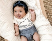 Here Comes the Sun Baby Bodysuit by Nature Supply Co