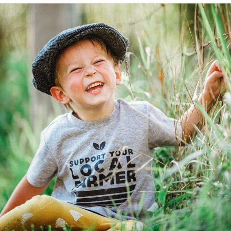 669aa93c2e08 Support Your Local Farmer Organic Shirt Gender Neutral Baby