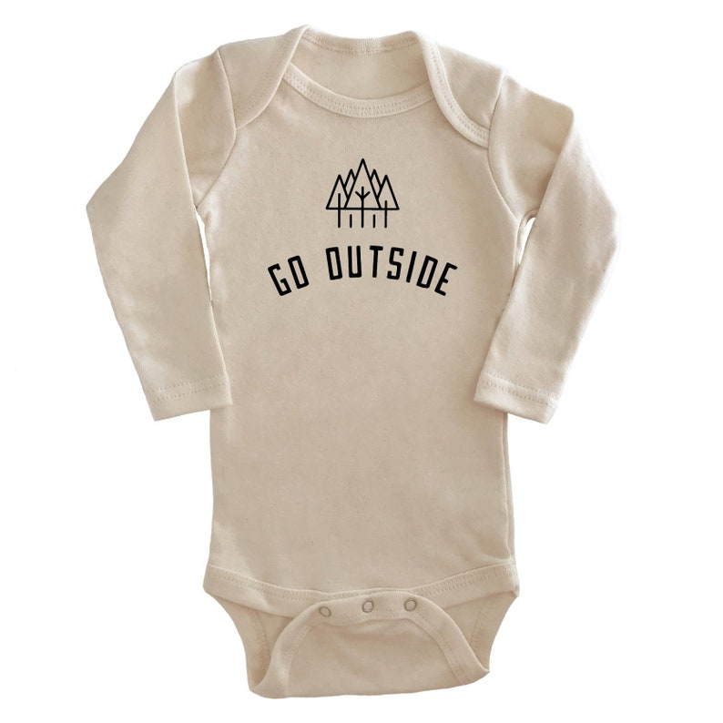 63ff32ce715d Nature is Neat Long Sleeve Bodysuit Long Sleeve Baby