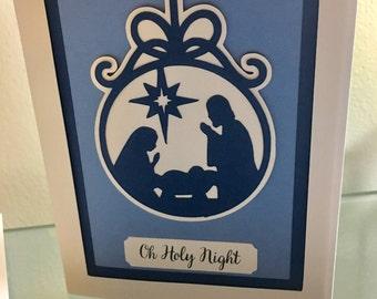 Handmade Religious Christmas Cards